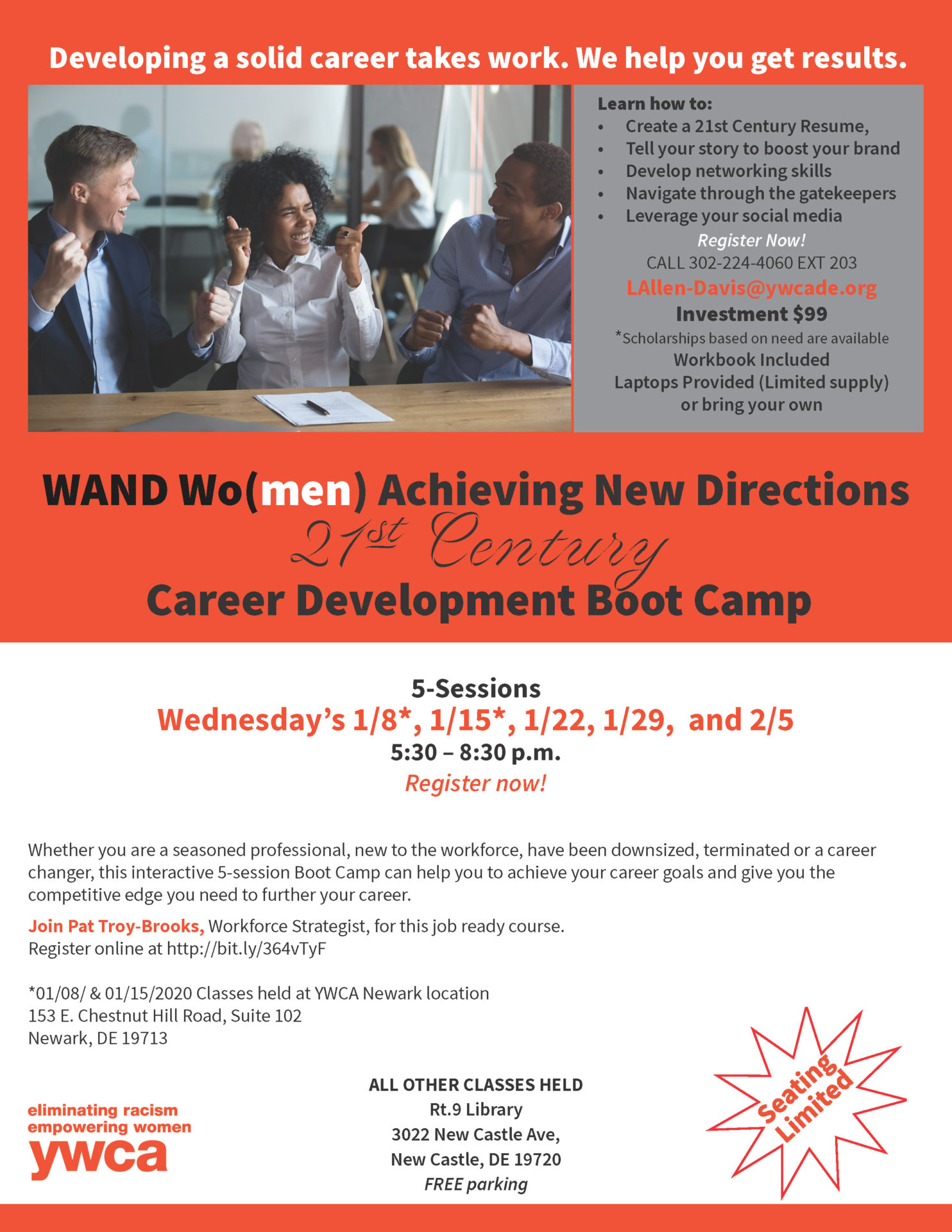 21 Century Career Development Flyer