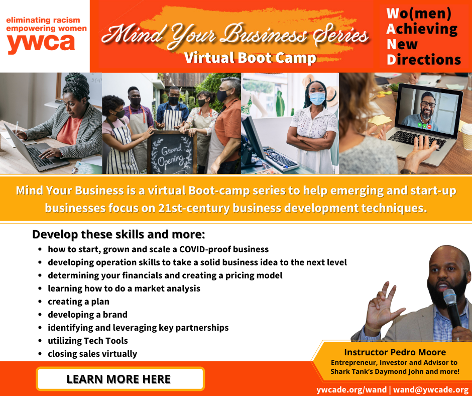 WAND Mind Your Business Virtual Boot Camp Series