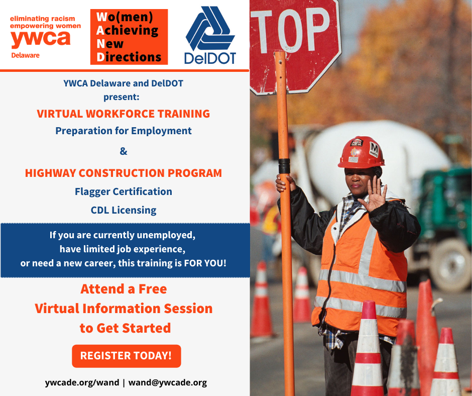 YWCA Delaware DelDOT Workforce Training