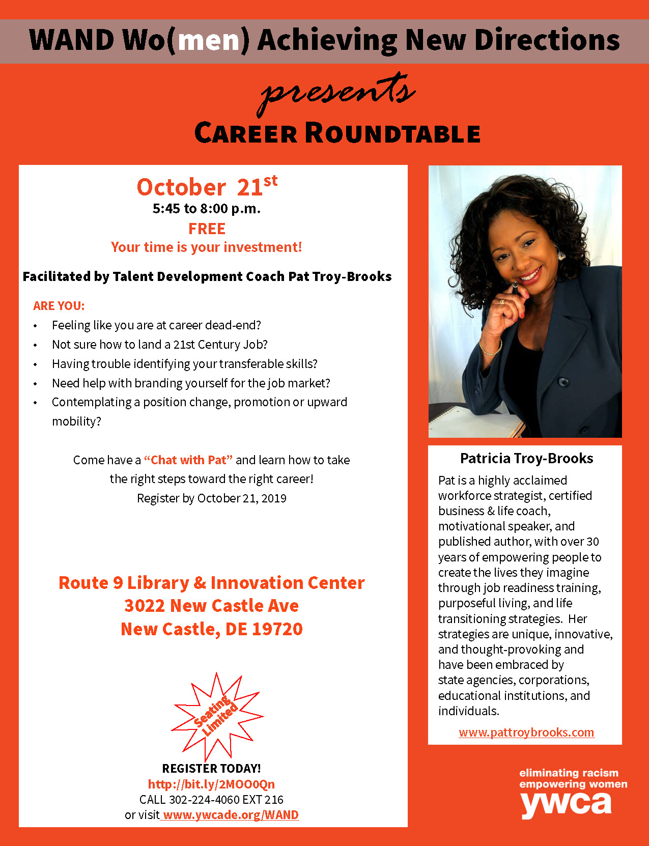 Career Roundtable with Pat