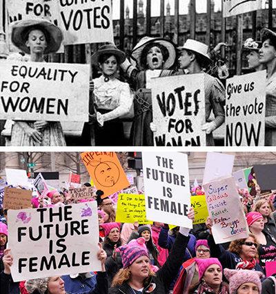 Women's Movement Graphic