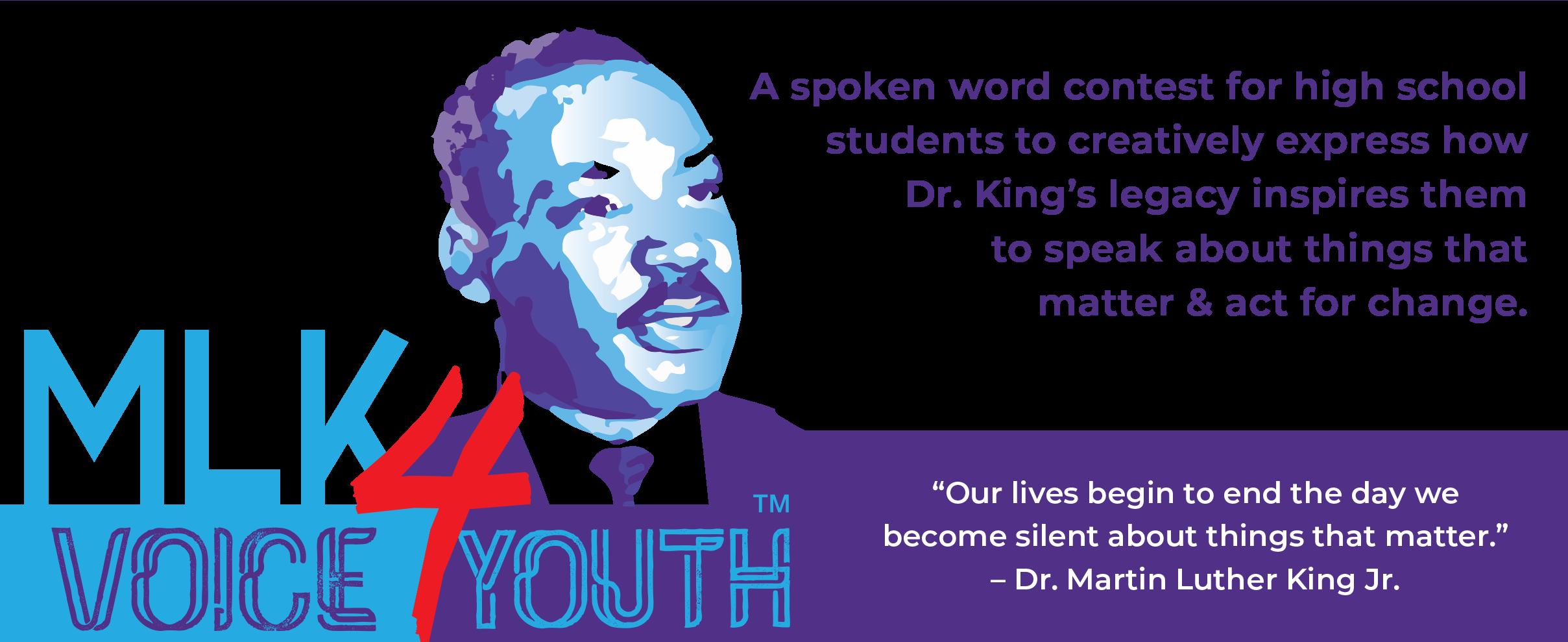 MLK VOICE 4 YOUTH header