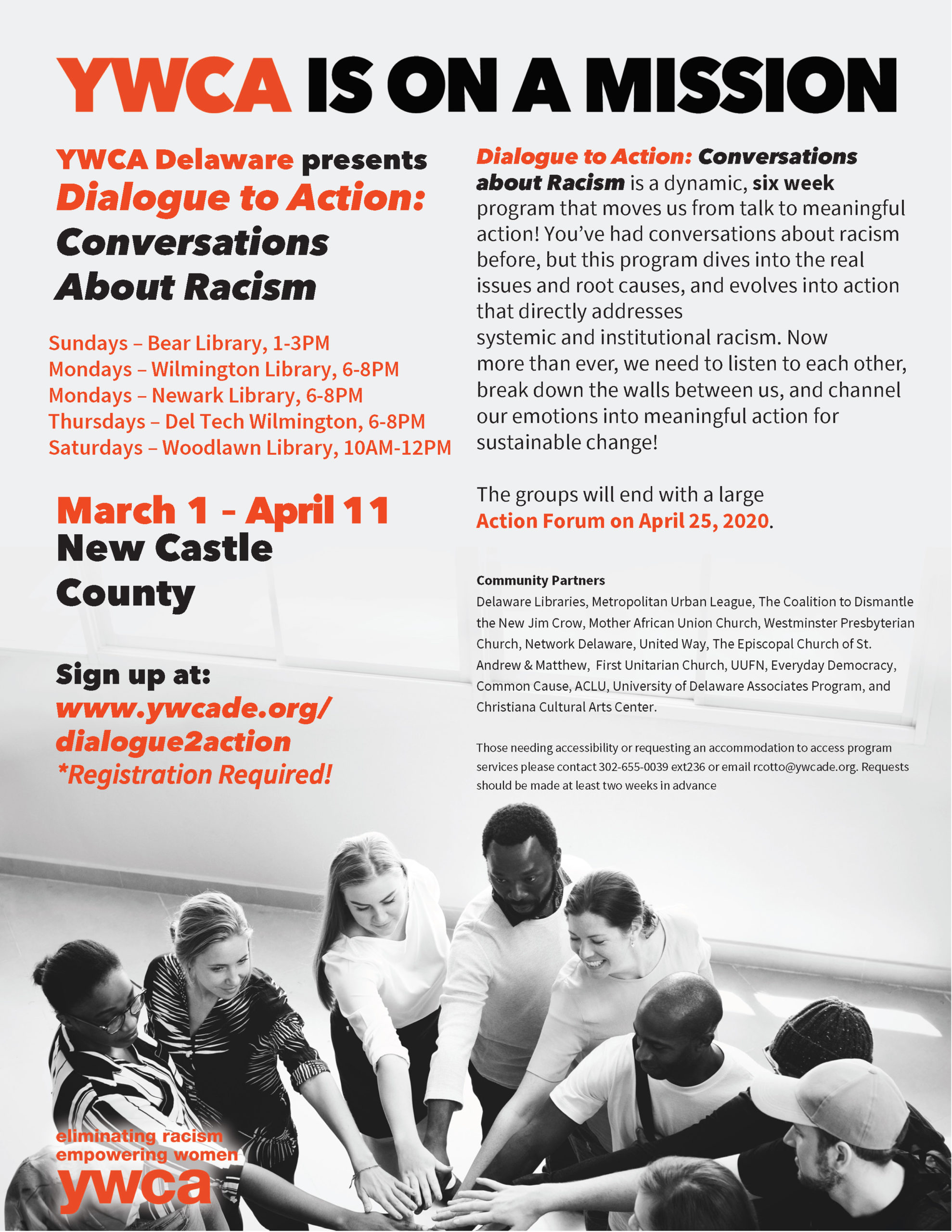 Dialogue to Action Flyer